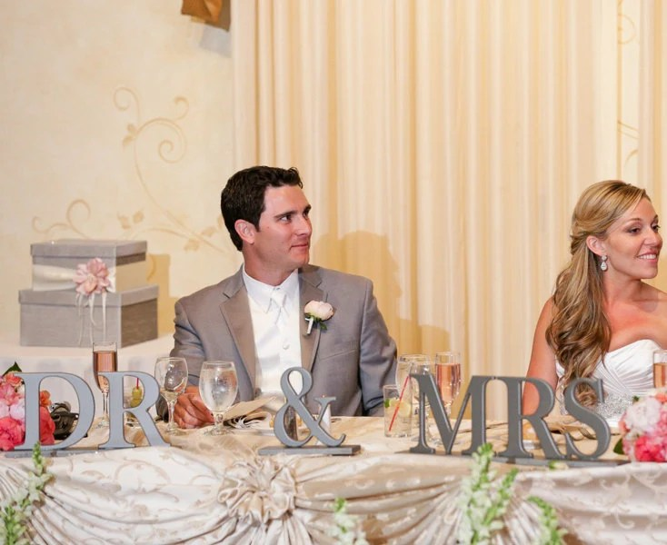 Items Similar To Mr & Mrs Table Signs For Wedding For