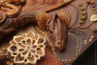 Fantasy Steampunk Dragon Journal by Mandarin Duck