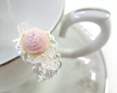 Light Pink Cupcake Ring - Glamour365