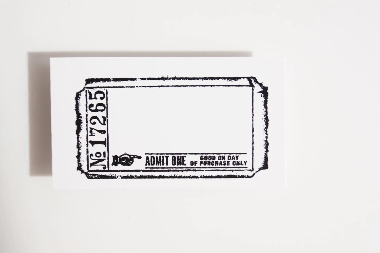 Blank Concert Ticket Template blank concert tickets template – Blank Ticket