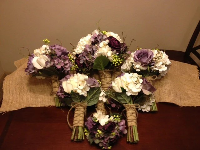 Items Similar To Real Touch Wedding Flower Package With