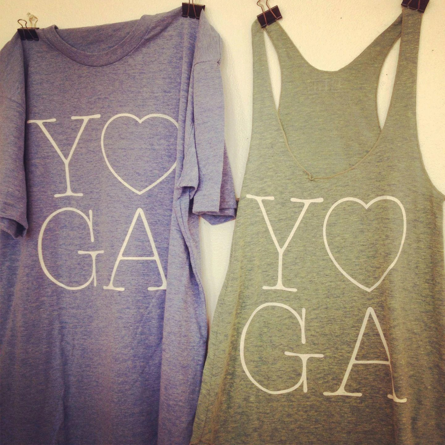 Yoga Tees and Tanks