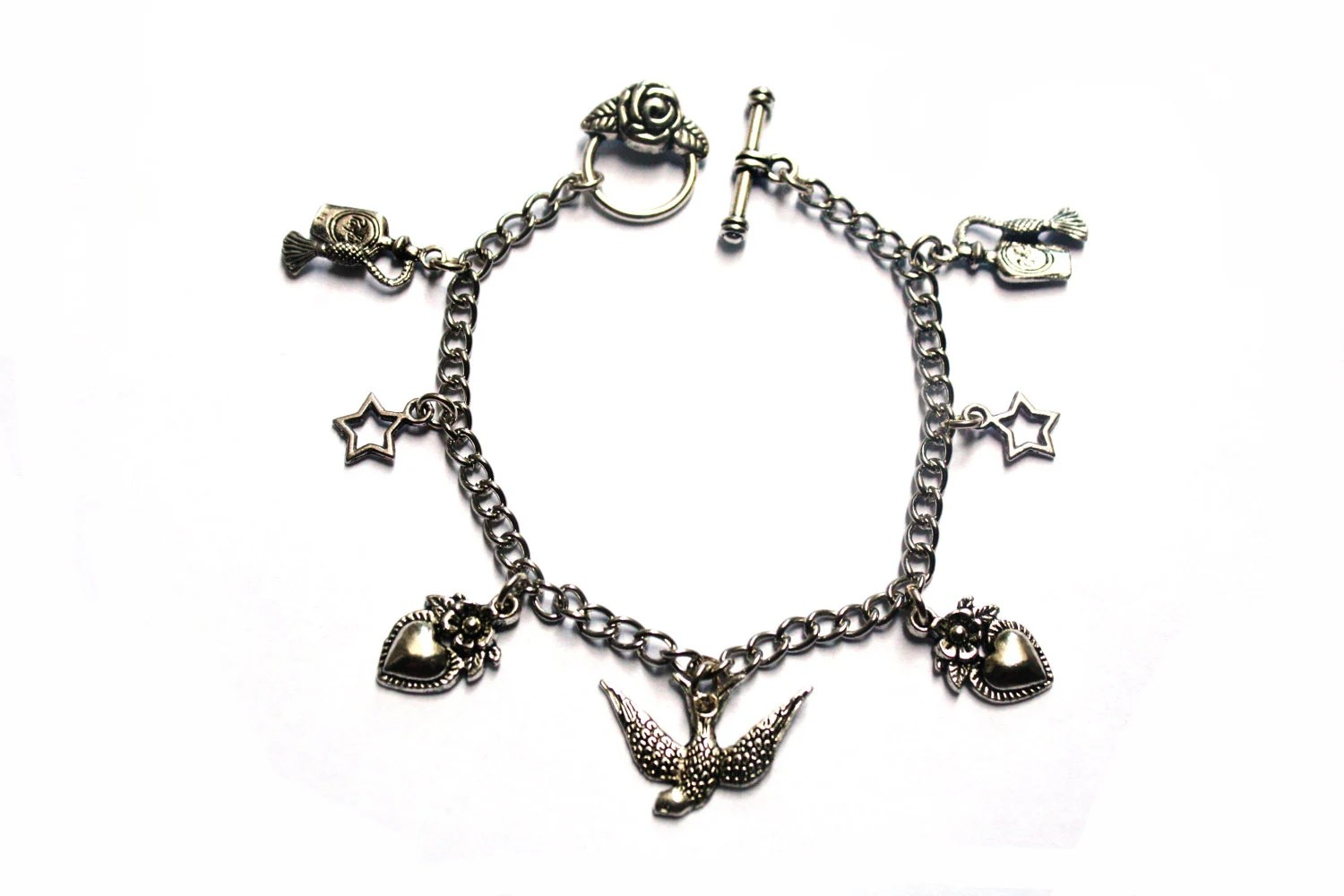 Cute Swallow Charm Bracelet