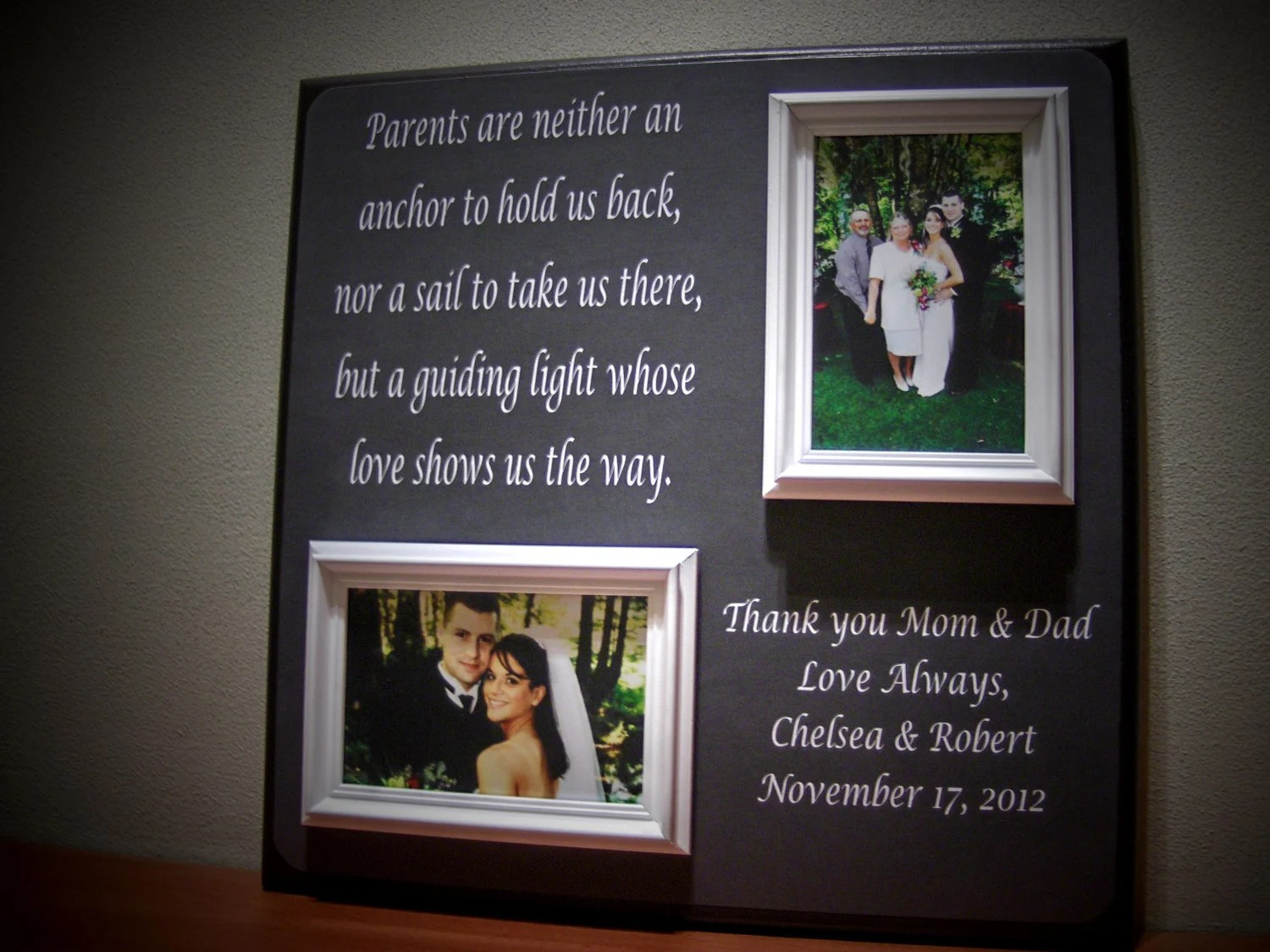 Wedding Gift : The Perfect Thank-you Gift For By