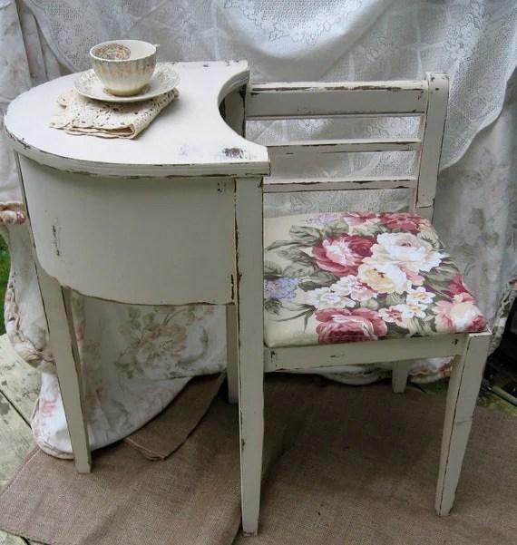 RESERVED Gossip Bench Telephone Stand Gossip Seat Shabby