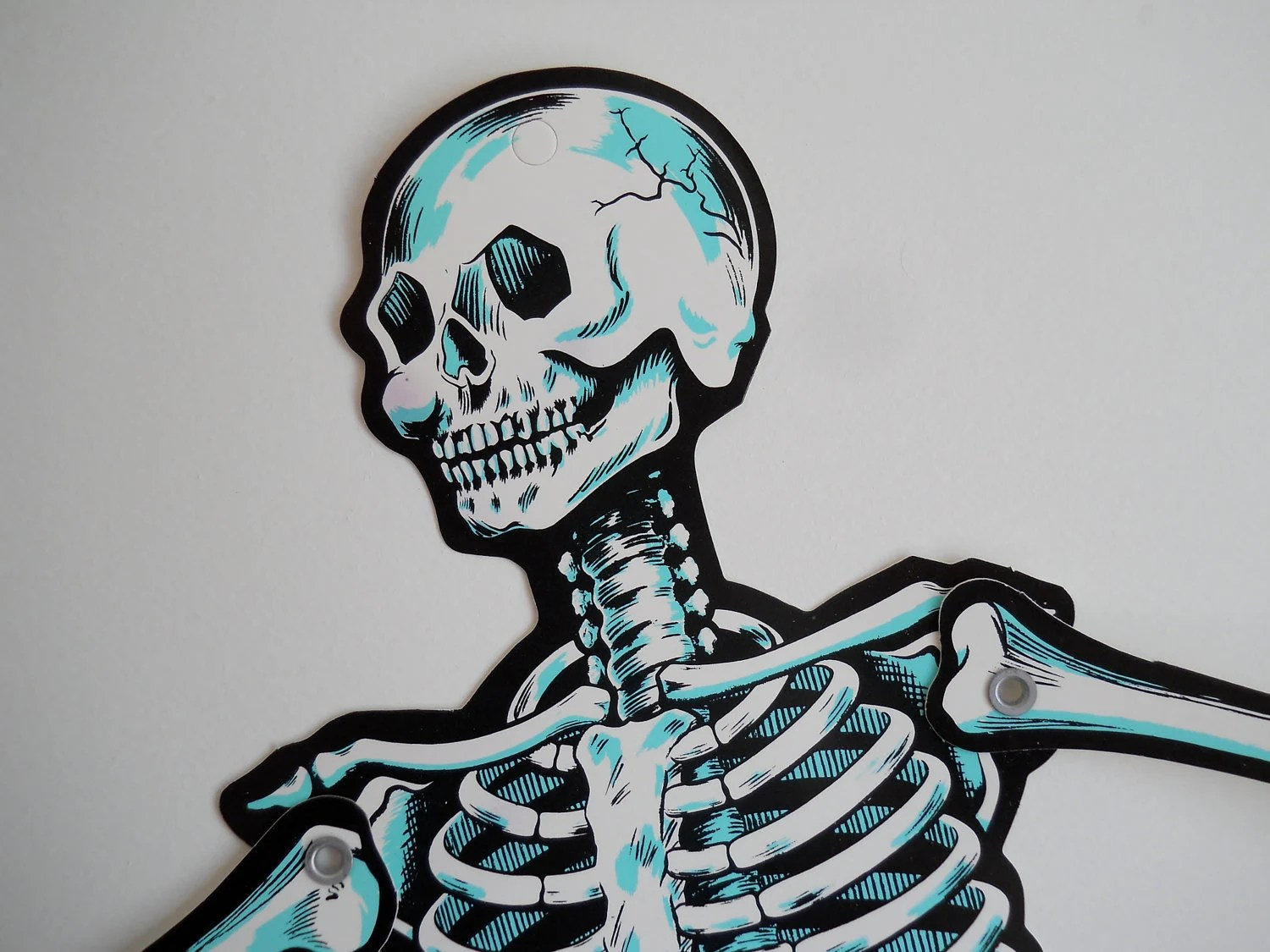 No Bones About It Cut Jointed Skeleton Halloween By