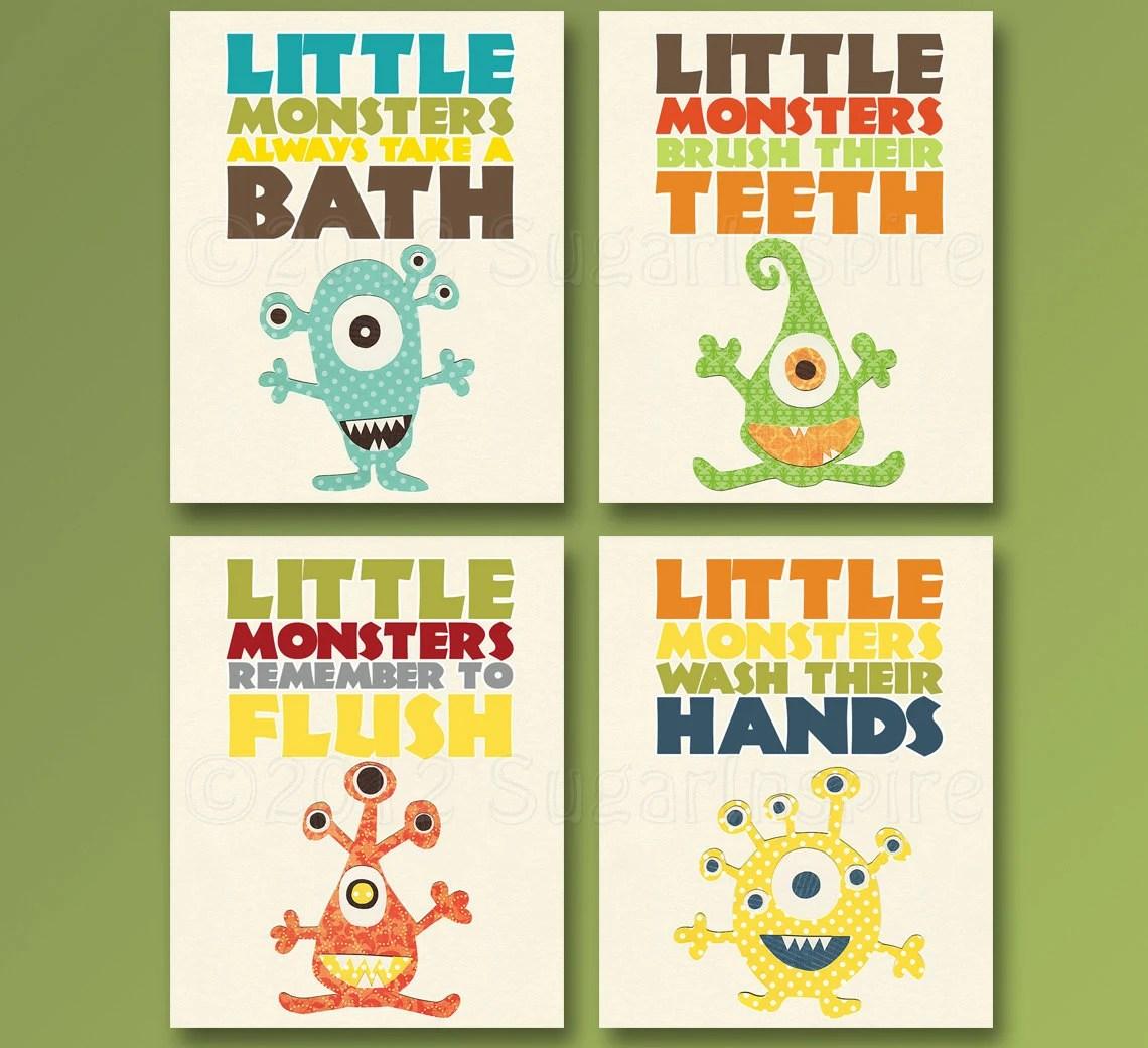 Kids Bathroom Art Baby Bathroom Children S