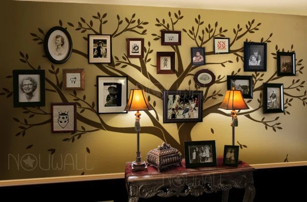 Wall Decal Tree Wall Decals Family Tree Wall Decal By NouWall