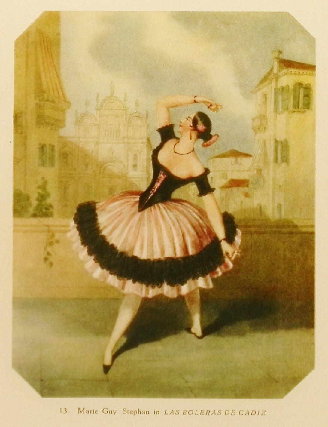 Ballerina Print Ballet Wall Art To Frame By