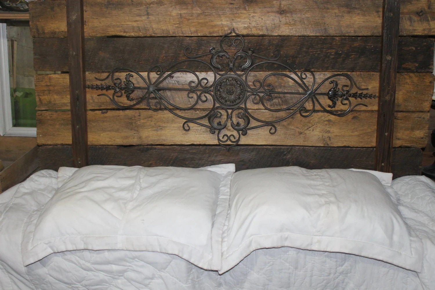 King Size Black Bedroom Sets. wrought iron rustic wood ...