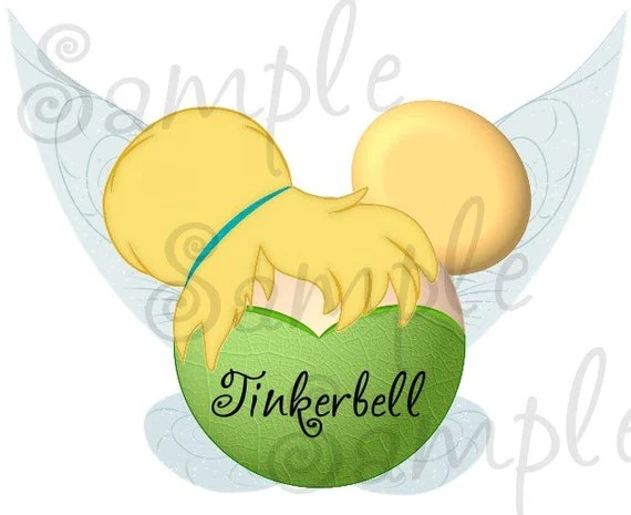 Tinkerbell Fairy Inspired Character Personalized Printable