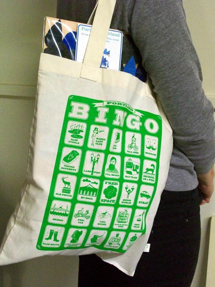 Portland Bingo tote bag - bishopart