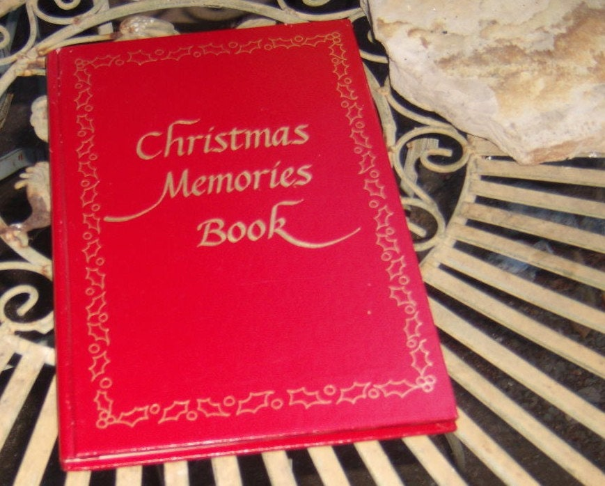 1978 Christmas Memories Book By Mystic Seaport