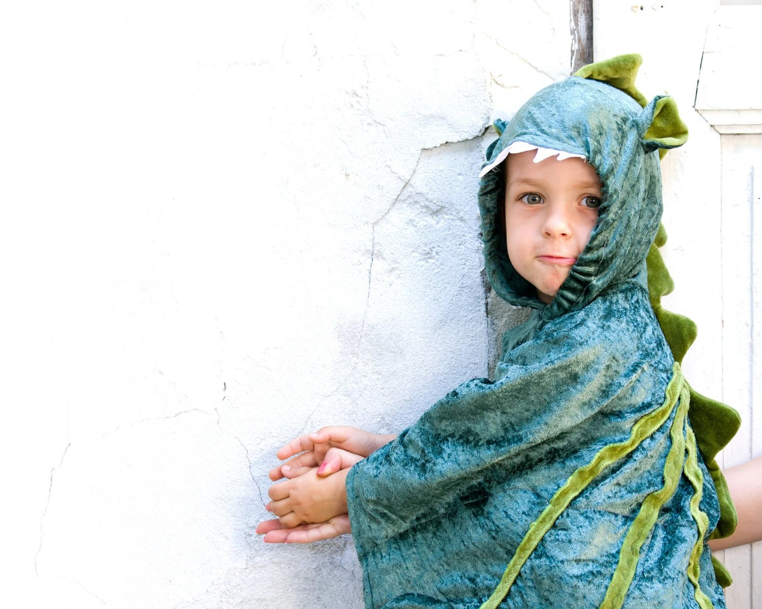Dragon Costume, Kid Birthday Party Costume, Party Fairy Tale Dragon Green Costume, Halloween Costume with Wings for Boys or Girls - BeauMiracleForYou