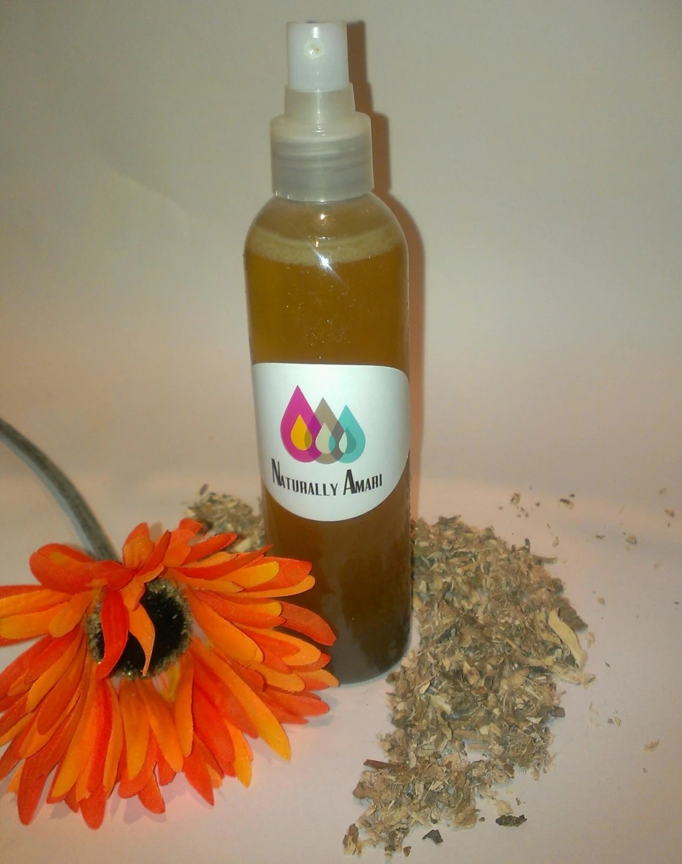 8oz Root Juice Hair Detangler/Spritzer/Horsetail/Burdock/Marshmallow Root/Curl Definer/PH Balanced
