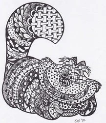 cheshire cat from alice in wonderland. trippy