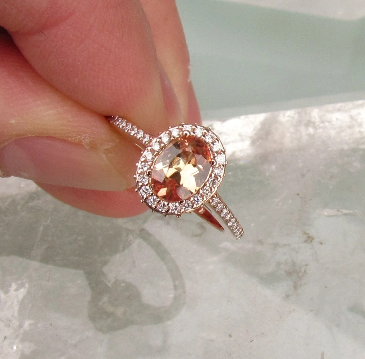 Morganite Rings A Gorgeous Alternative To Pink Diamonds