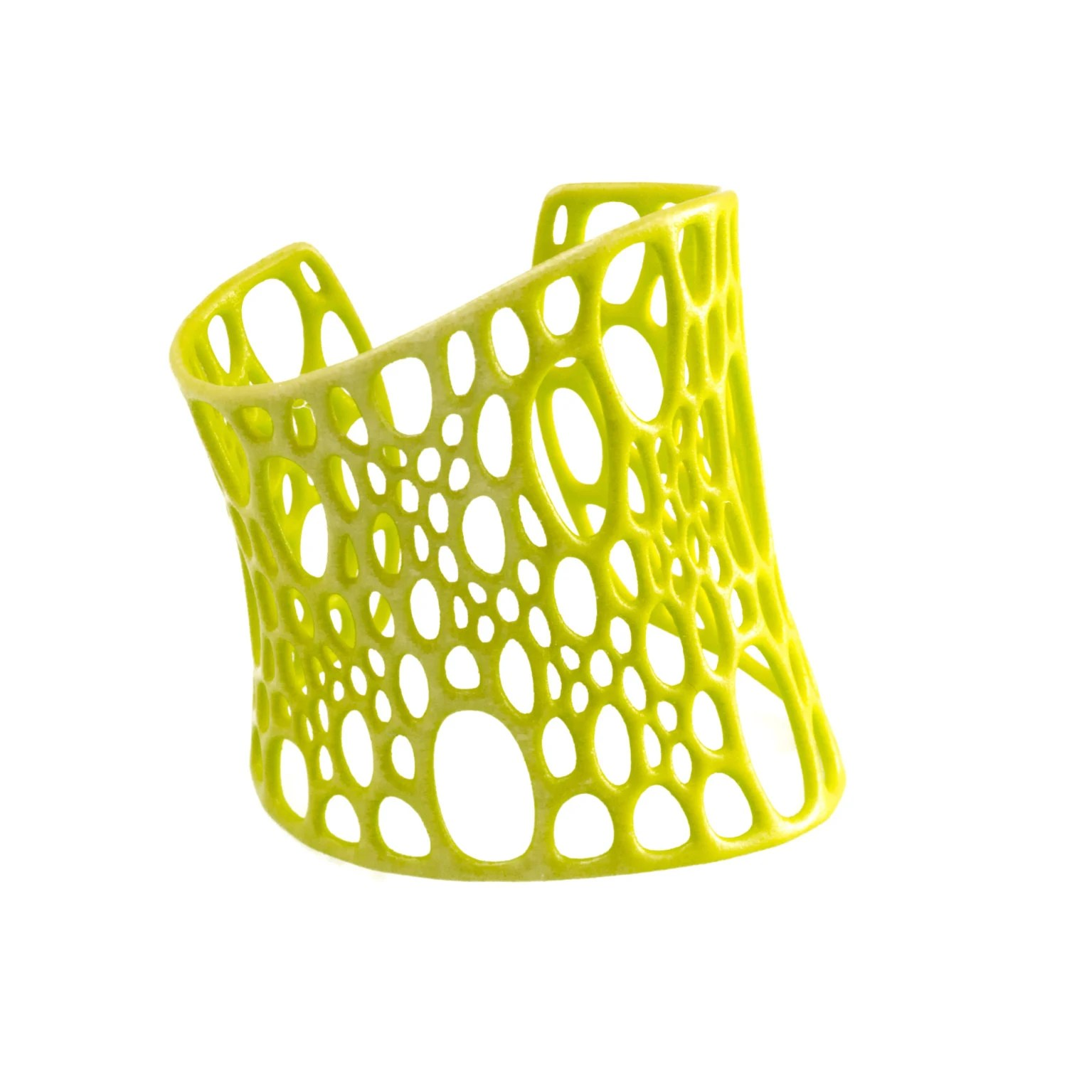 SALE 25% OFF Subdivision Cuff - neon yellow - nervoussystem