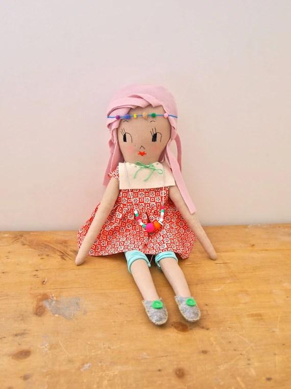 Molly Dolly rag doll heirloom quality, Ava