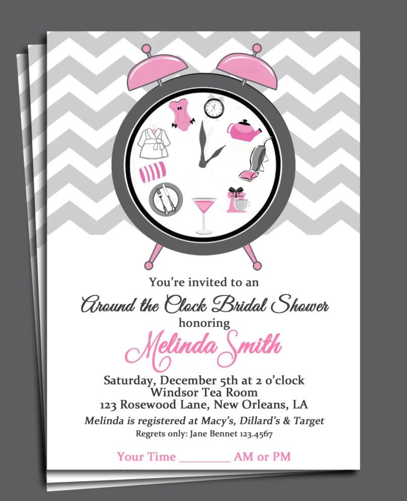 Bridal Shower Invitation Timing | Invitationjpg.com