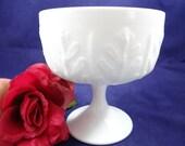 Vintage FTD Milk Glass Co...