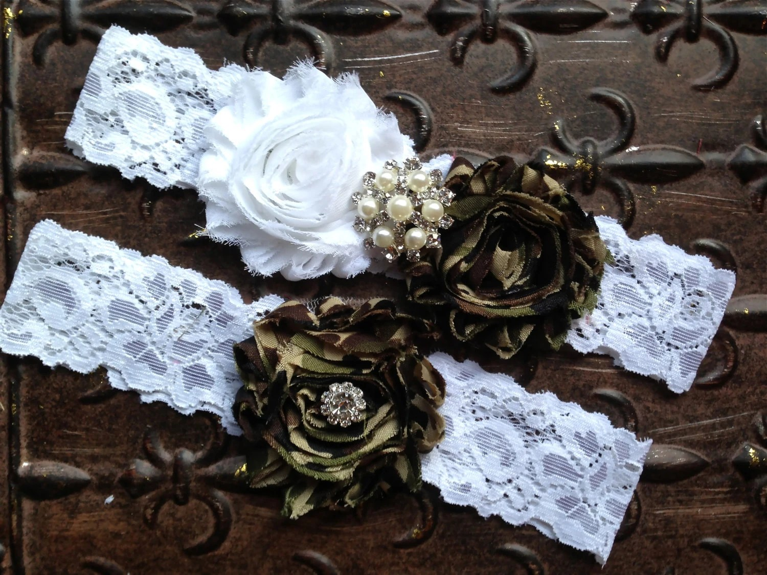 Camo Wedding Garter Set Camo Wedding Garter Camo Bridal