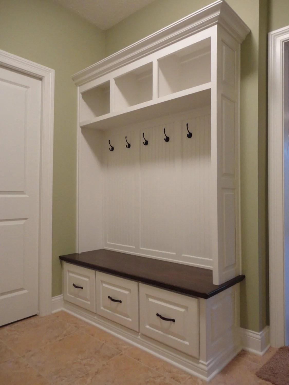The Virginia Mudroom Lockers Bench Storage Furniture Cubbies