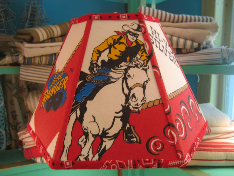 Lampshade Vintage Cowboy Lamp Shade