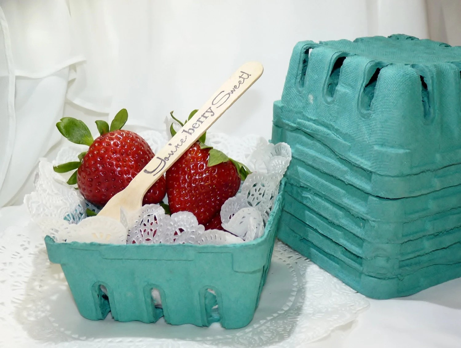 Berry Baskets 1/2 Pint Crates-12 Perfect Serving Size
