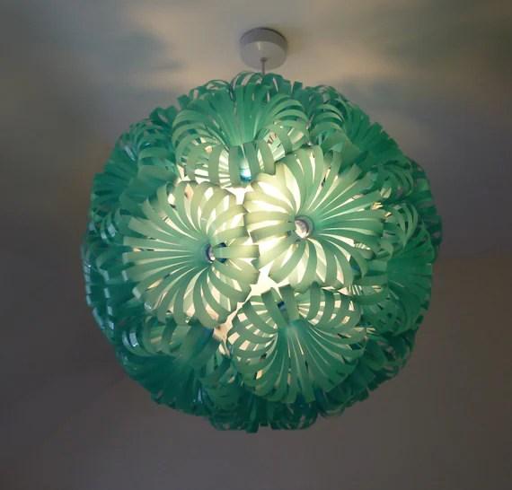 Cola 30 - Plastic Bottle Ceiling Light