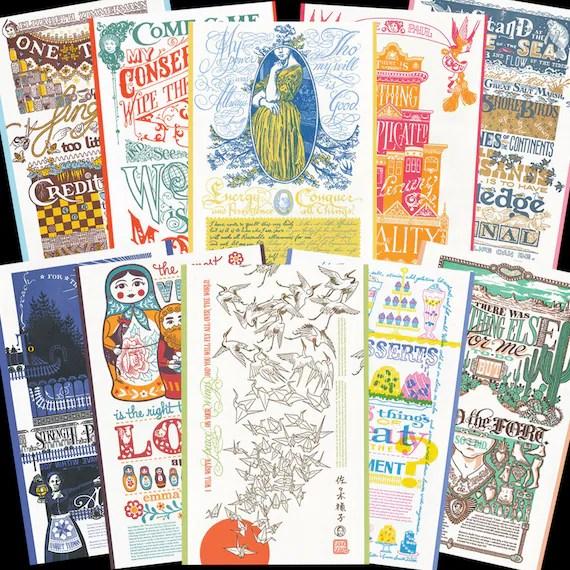 Dead Feminist Postcards.