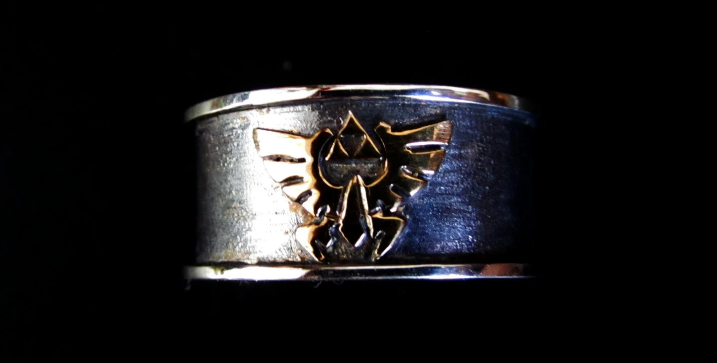 Triforce Ring Bling