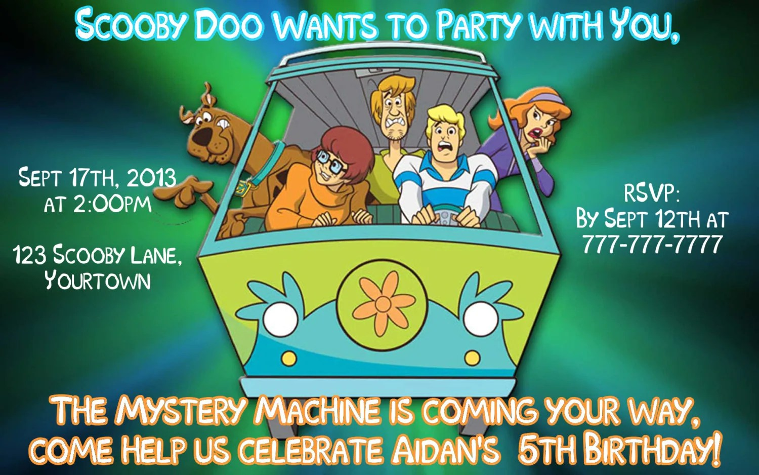 Items Similar To Scooby Doo Where Are You Birthday