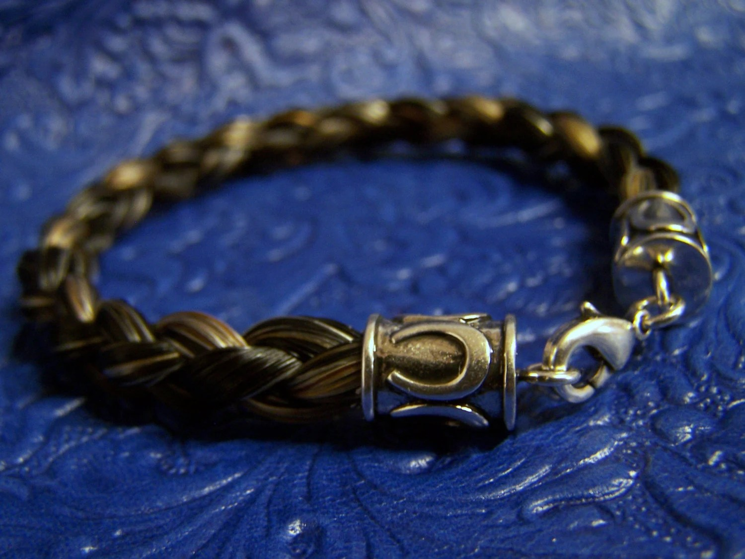 Custom Made Horse Hair Bracelet From Your By