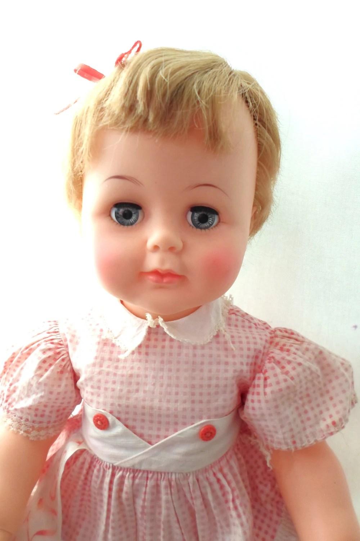 Adorable Vintage 1961 1964 Ideal Kissy Doll 22 12