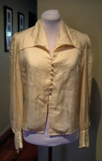 Vintage 1940s Silk Blouse MINT