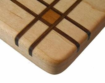 Wood Inlay Wooden Cutting Board Th e Pulman ...