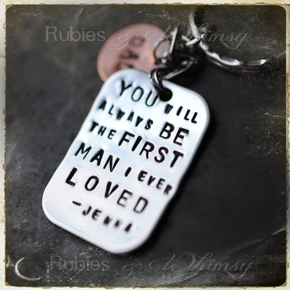 First man I Ever Loved Personalized Gift For Father Dad