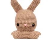 Fat Face Bunny Amigurumi Pattern