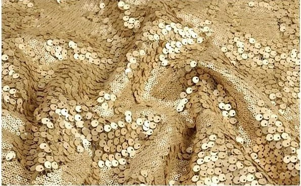 Gold Sequin Fabric , Embroidered LeoPard Printing Lace Fabric, Luxury Baroque Bridal Lace Fabric - WeddingbySophie