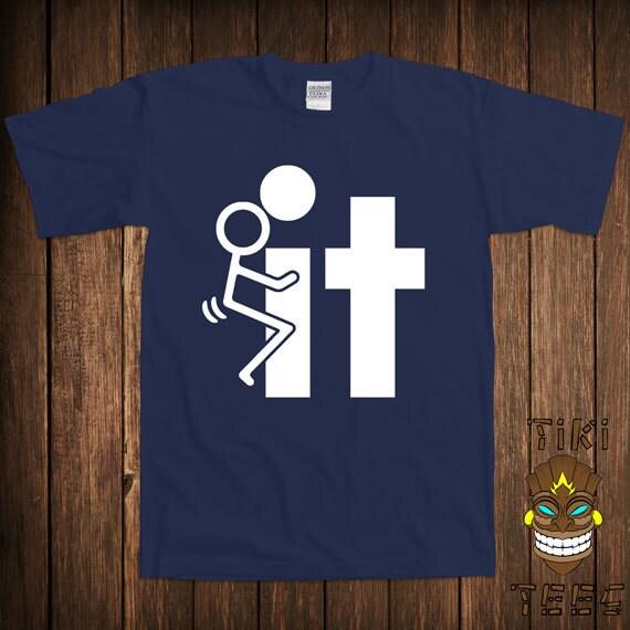 Funny Offensive T Shirt Rude Stick Figure Tee Shirt Tshirt
