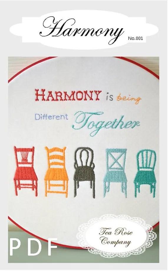 Harmony Downloadable Pattern