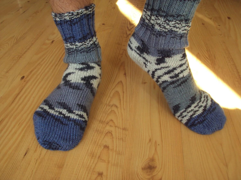 Men socks handmade good for present - KnittingHobby