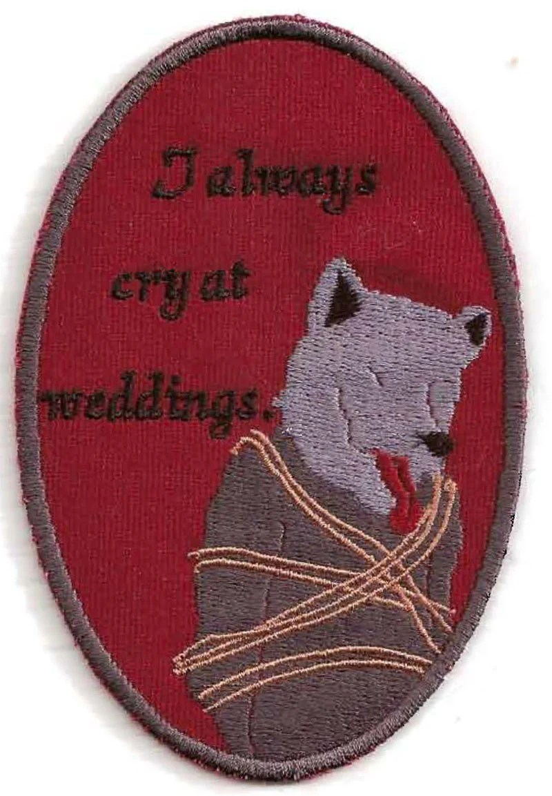 Red Wedding Patch - inspired by A Game of Thrones/A Song of Ice and Fire - StoriedThreads