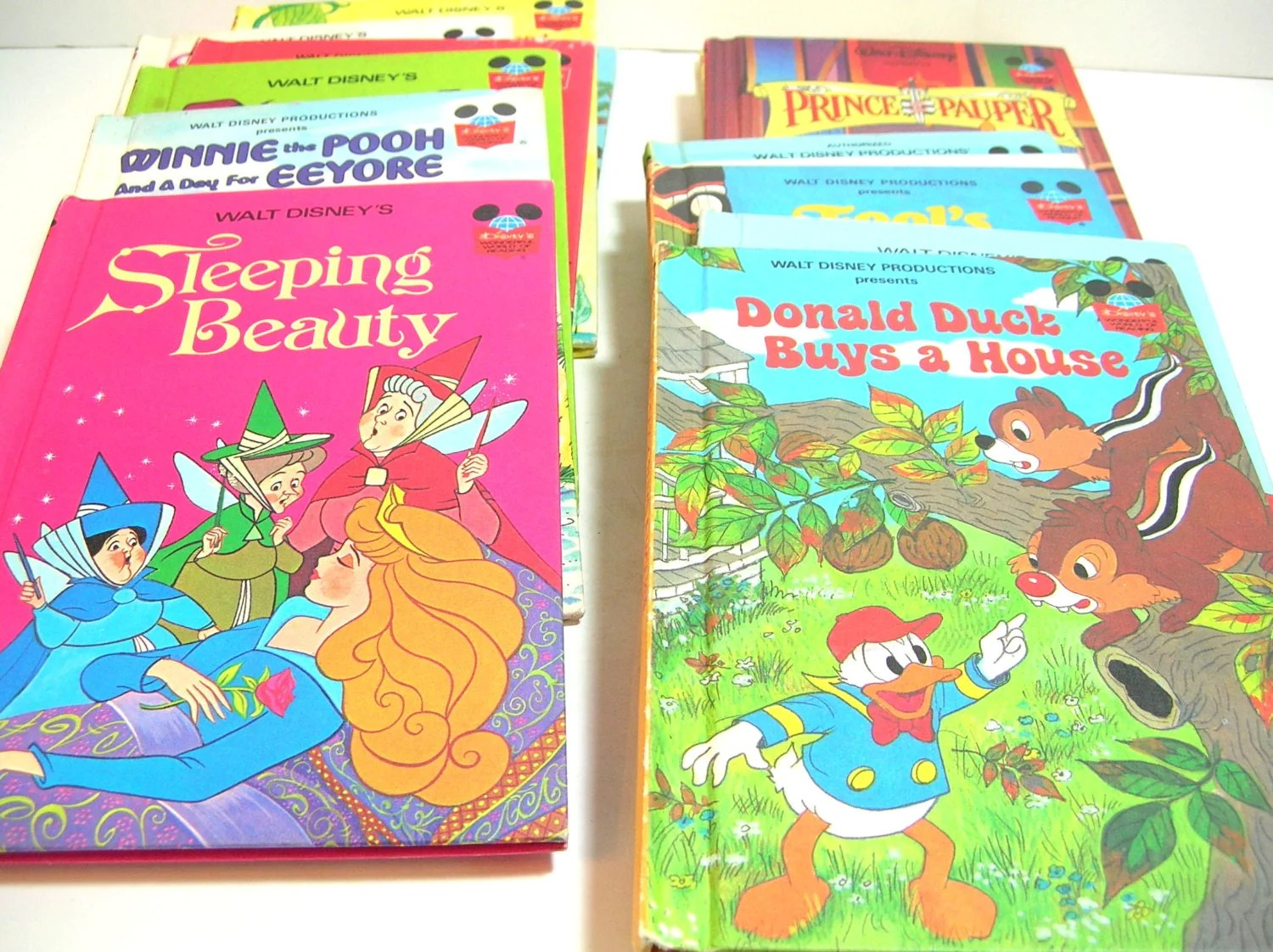 Disney S Wonderful World Of Reading Book Collection 15
