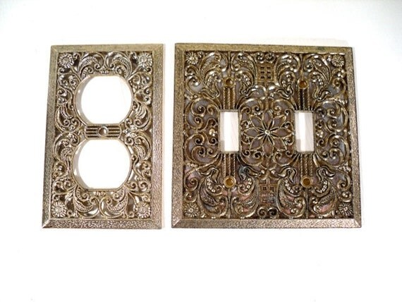 Decorative Switch Plate Retro Electric Outlet Cover