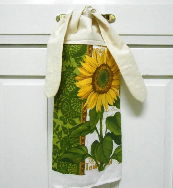 Kitchen Hand Towel Dish Hanging Tie