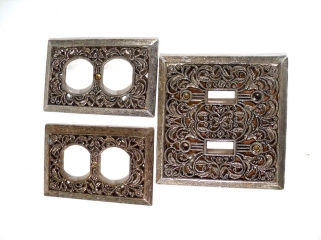 Decorative Switch Plate Retro Electric Outlet Covers