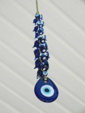 elephants with evil eye wall decoration, wall hanging,Turkish nazar boncuk nazar bead - nesel