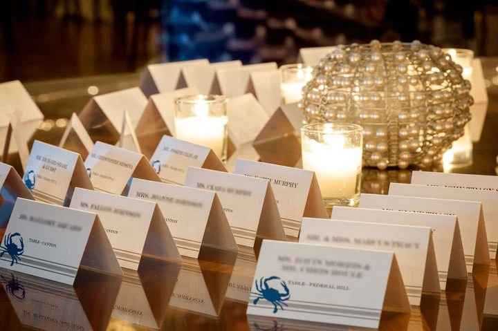 Items Similar To Wedding Table Name Cards